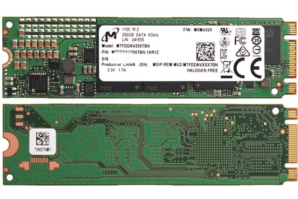 MTFDDAV256TBN-1AR1ZABYY 固态硬盘 (SSD) Micron Technology Inc 0.00