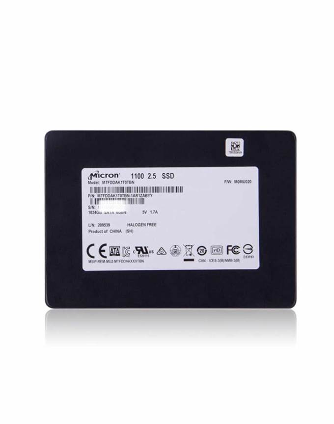 MTFDDAK256TBN-1AR1ZABYY 固态硬盘 (SSD) Micron Technology Inc 0.00